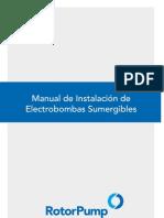 Manual de Instalación de bombas sumergibles