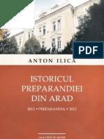 Istoricul Preparandiei din Arad, de Anton Ilica