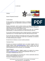 Carta de Intencion Comercial Salsared