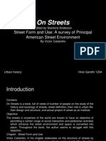 On Streets Ppt