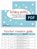 Holiday Poetry Preview