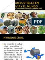 Problematica de Biocombustibles en Bolivia y El Mundo