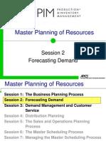 APICS ForecastingDemand