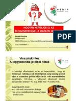 NÉBIH - Hogyan kerüljük el az élelmiszereknél a jelölési hibákat? - 2012. november 7.