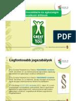 NÉBIH - Tápanyag-összetételre és egészségre vonatkozó állítások - 2012. november 7.