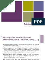 Bcec3201 What is Building Audit