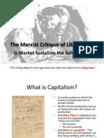 10 Marx and Market Socialism