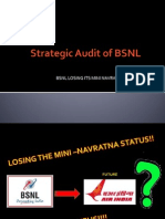 Strategic Audit of BSNL (1)