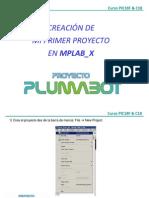 Creacion Primer Proyecto Mplab x