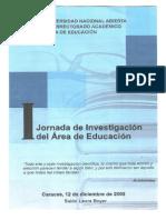 Documentos i Jornada Del Area de Educacion