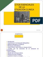 25-08-2012 Dr.volman Aspectos Esenciales de La Investigacion Clinica