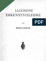 Schlick-AE (1st Ed)