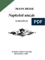 Hesse Hermann - Napkeleti Utazás