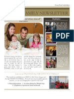 November 2012 Family Newsletter PDF