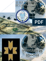 Bolsa Mexicana de Valores Diapositivas