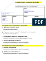 Documentos Financiamento BB