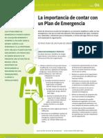 Ficha Plan Emergencia