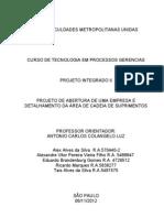 Projeto Integrado II. ORIGINAL Ultimo