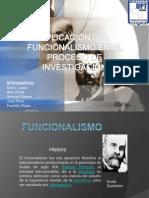 FUNCIONALISMO presentacion