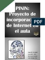 PININ - Proyecto de incorporación de Internet en el aula