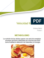 Velocidad Metab.