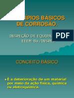 PRINCÍPIOS BÁSICOS DE CORROSÃO