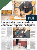 Educacion Especial en Iquitos