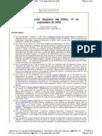 Bolivia Decreto Supremo Nº 25902, 15 de septiembre de 2000.mht
