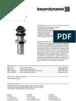 Beyerdynamic - Mikrofon MPC 22-Brochure