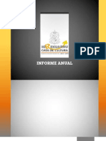 CASA DE LA CULTURA YURÉCUARO INFORME 2012