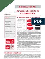 Psoe-boletín Villanueva 2