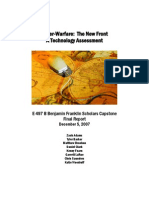 Cyberwarfare Vulnerability Assessment (2007)