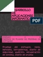 Diseños de planes de pruebas de software1