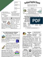 PBC Bulletin - November 18 2012