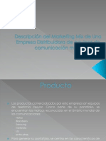 Marketing Mix de Una Empresa (Caso Real)