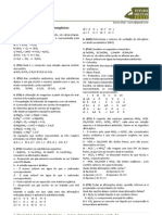 TD001 2012 Quimica Ita Ime Funcoes Inorganicas