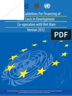 UN – EU Guidelines For Financing of
