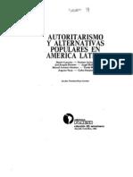 Autoritarismo y Alternativas Populares