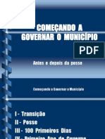 Apresentação Transição 2012
