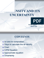 Air Density Uncertainty