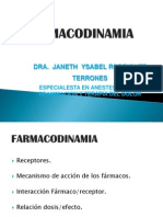 PONENCIA FARMACODINAMIA