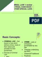 Criminal Law Book I