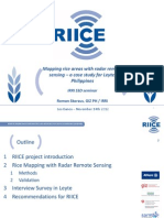 """Mapping rice areas with radar remote sensing – a case study for Leyte, Philippines"""""""