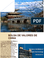 Bolsa de Valores de China