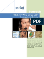 Win Bharat - Project Synopsis