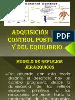 Adquisición  del control postural y del equilibrio