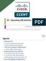 07 - Operating LAN Switches