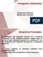 Yvonne_empirical and Molecular Formula