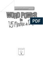 Word Power in 15 Minutes a Day 1