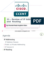11 - Review of IP Addressing and Routing